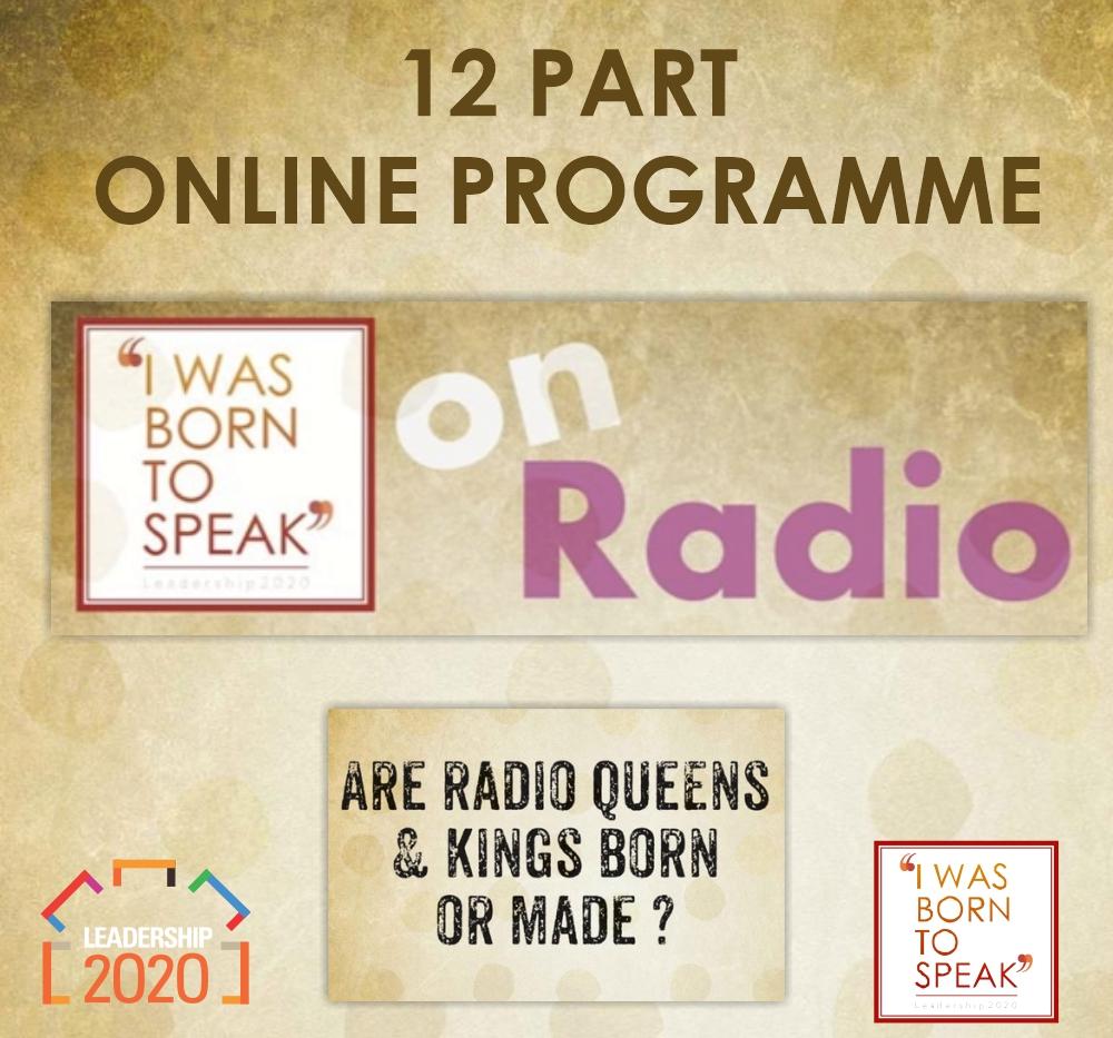 ARE YOU BORN TO SPEAK ON RADIO?