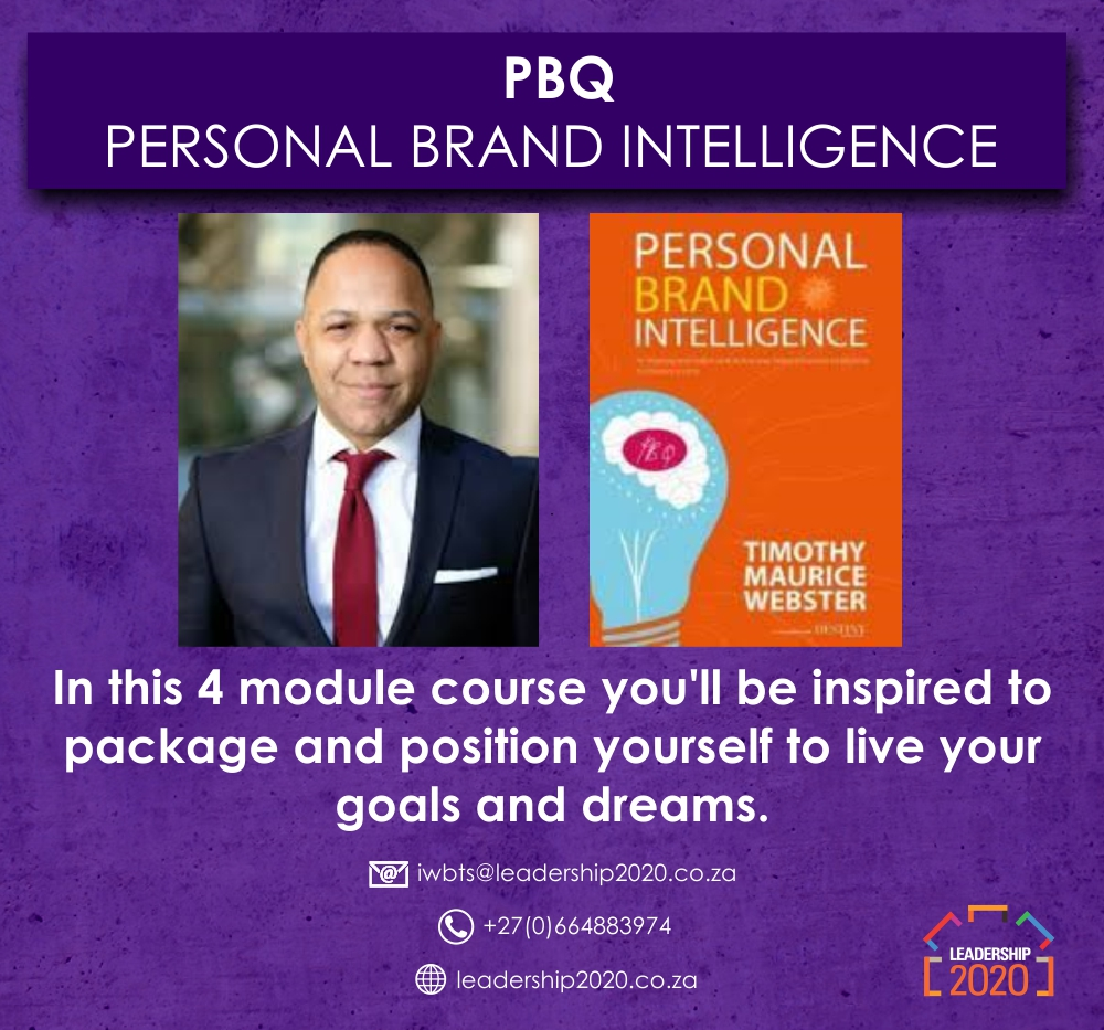 Personal Brand Intelligence and Influence Course