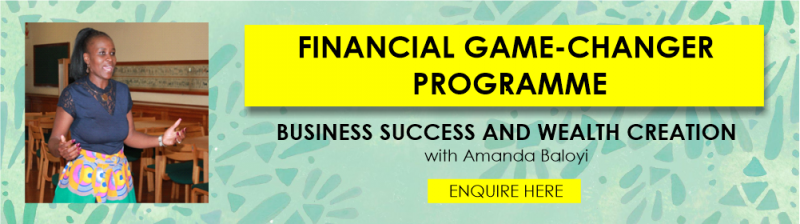 FINANCIAL GAME-CHANGER PROGRAMME1